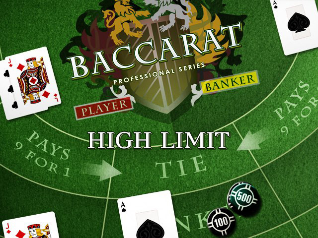 Baccarat Pro - High Limit