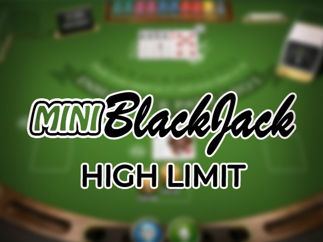 Blackjack Mini (1 box) - High Limit